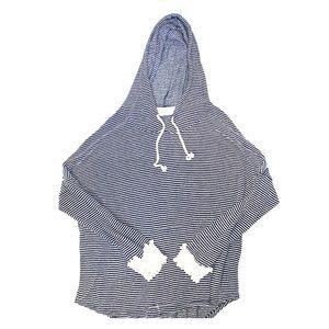 Women's long sleeve hooded sweater